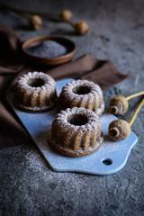 Small poppy seeds bund cakes