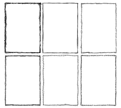 Set of Sketchy Frames