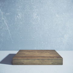 Wooden board, ad concept
