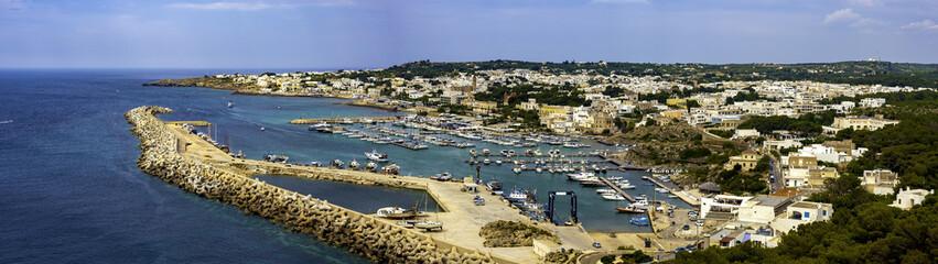 View of marina in Santa Maria di Leuca - Apulia, ITALY