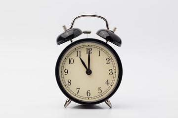 alarm clock, eleven o'clock