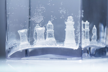 Underwater chess abstract