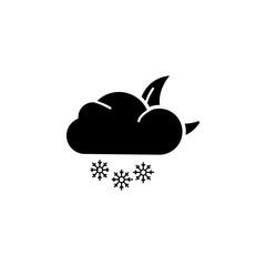 night snow icon