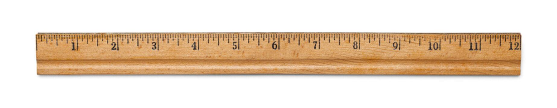 Antique Wood Ruler