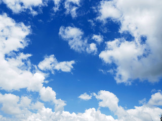 cloud on clear sky - image for artwork