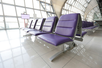 chair in the airport