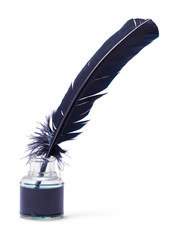 Ink Quill and Ink jar