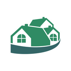 Wrapped Group House Green Logo