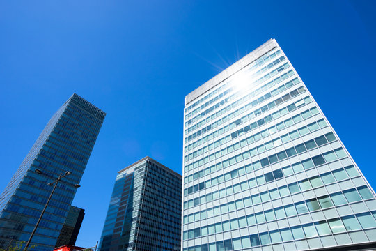 東京・秋葉原のオフィス街の風景