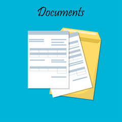 illustration for business documents,