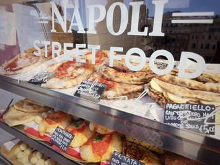 Fotobehang Napels Neapolitan Street food