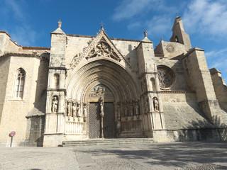 Santa María la Mayor Archpriestal Church in Morella, Spain