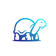 turtle vector outline