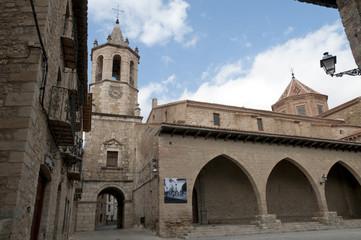 Old village of Cantavieja in the Maestrazgo, Teruel, Spain