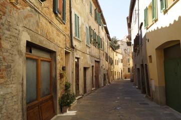 Strasse in Montepulciano