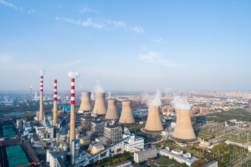 modern large thermal power plant