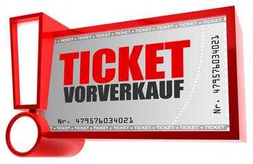Ticket-Vorverkauf!