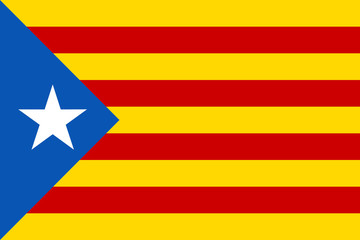 Estelada Catalan flag