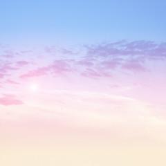 Sky pastel bright colors