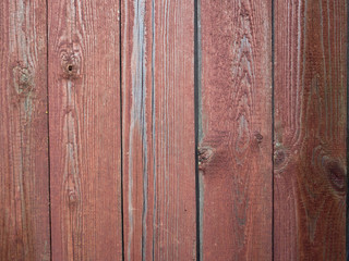 wooden fence background with red color