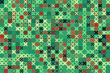 Seamless vector background with abstract geometric pattern