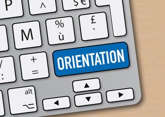 orientation - carrière - plan de carrière - entreprise - emploi - clavier d'ordinateur