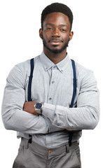 young african man