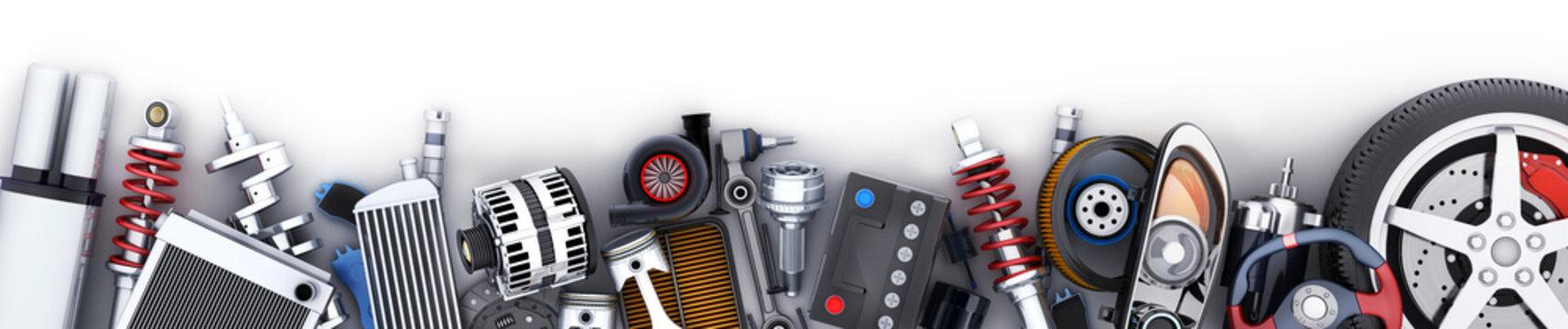 Many car parts row