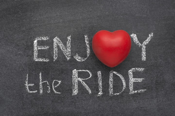 enjoy the ride heart