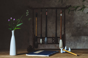 Chinese style desk