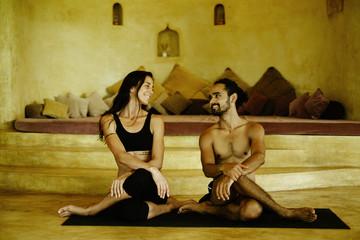Yoga practise