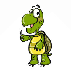 cute turtle illustrations cartoon