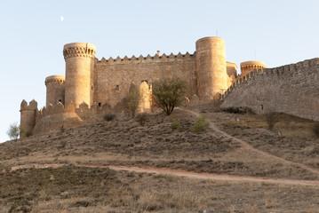Castillo de Belmonte (castle of Belmonte), a medieval castle on the  village of Belmonte, in the province of Cuenca in Spain.