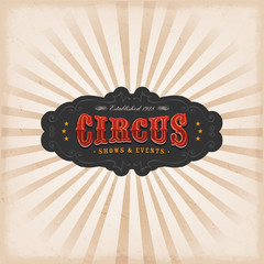Circus Background With Texture