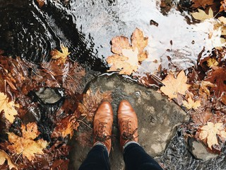 Boots in Autumn
