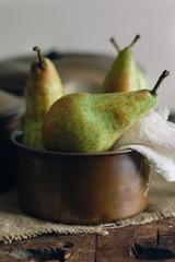 Organic pears.