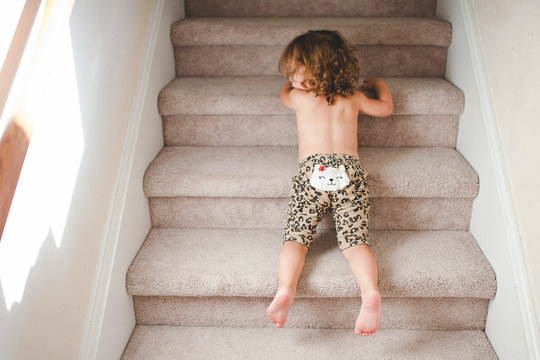 Another way to go down the stairs
