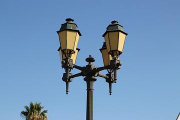 Alte Strassenlaternen in Faro