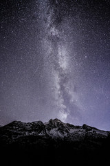 Stucklistock with night sky