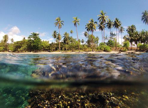 Solomon Islands, tropical water
