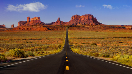 Monument Valley road Fototapete