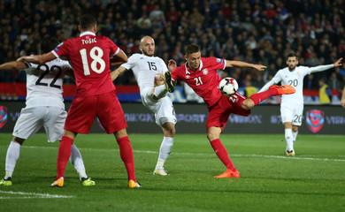 2018 World Cup Qualifications - Europe - Serbia vs Georgia