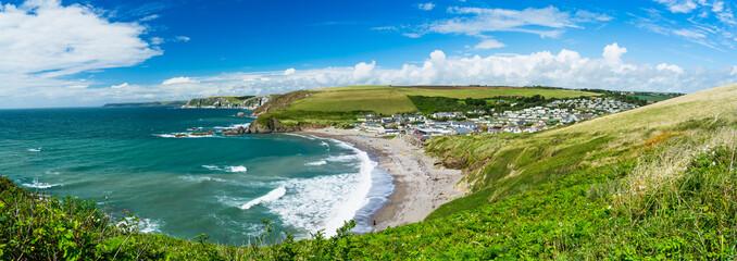 Fototapete - Challaborough Bay Devon England UK