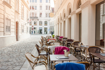 Photo sur Toile Vienne Street in Vienna