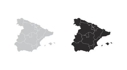 Wall Mural - map of Spain