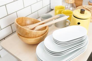 Kitchen, dishes image