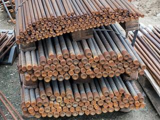 Bewehrungsstahl - Betonstahl - Stahlstäbe