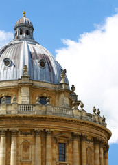 Dome of the Radcliffe Camera in Oxford