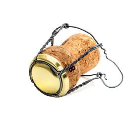 Champagne cork cut out