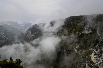 Çatak Kanyonundan bir görünüm, Azdavay, Kastamonu